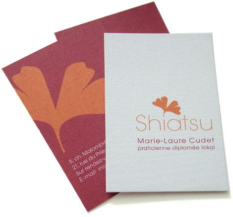carte de visite shiatsu