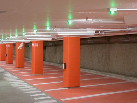 burolabo graphisme signalisation parking a roport. Black Bedroom Furniture Sets. Home Design Ideas